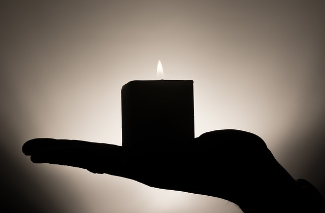 A candle to light the way